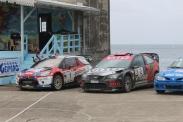 DS3 WRC de Simon JEAN-JOSEPH et Focus WRC de Jeffrey PANTON