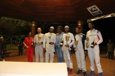 Podium Rallye Madinina 2018